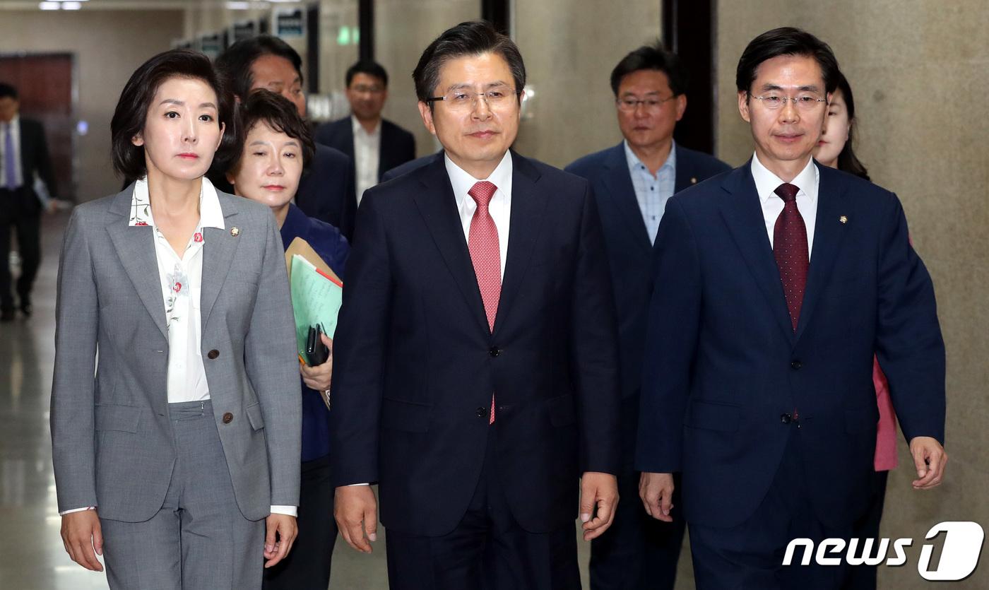 '혁신 가늠자'..한국당, 21대 총선 공천룰 향방 이목집중