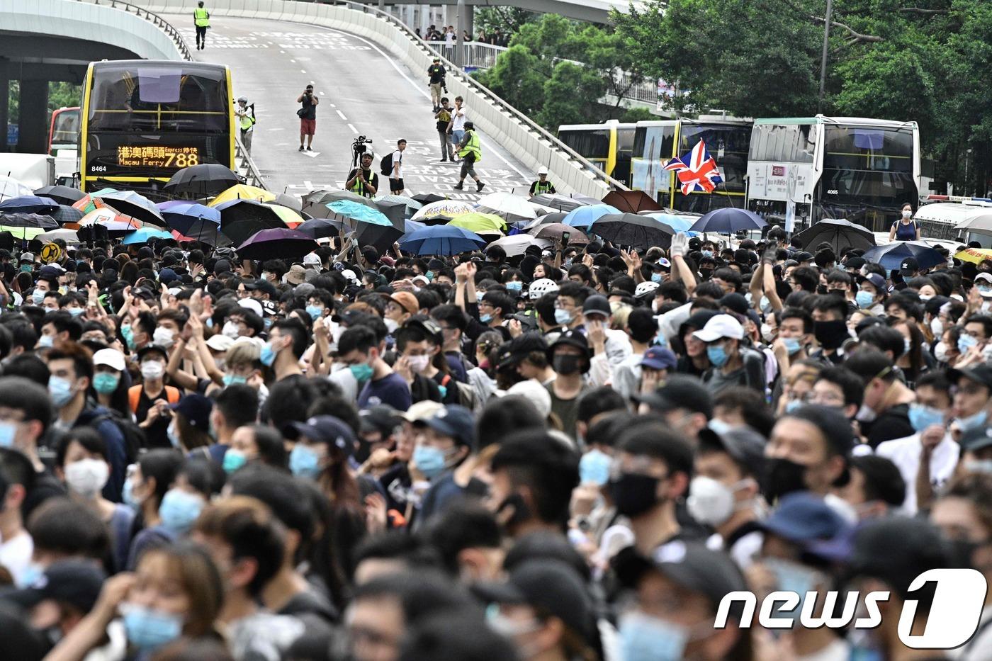 홍콩 시민 수천명 길거리 점거 하고 시위 돌입[베이징 토토|비앙키 토토]