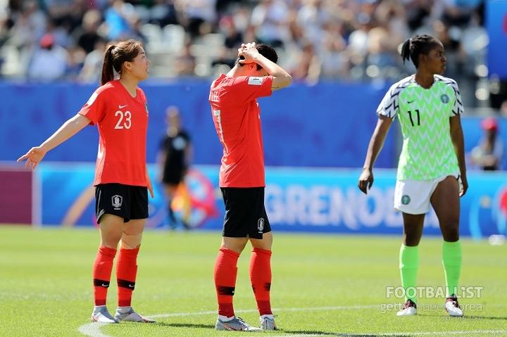 [분석.1st] 결정력 떨어진 女대표팀, 나이지리아 힘에 당했다[이탈리아축구리그|사이트명 토토]