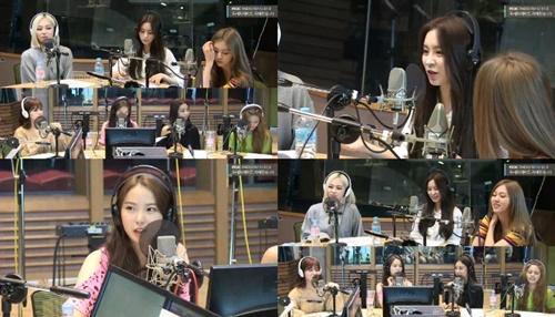 '두시의 데이트' 씨엘씨(CLC) 사진=MBC FM4U '2시의 데이트 지석진입니다' 방송캡처