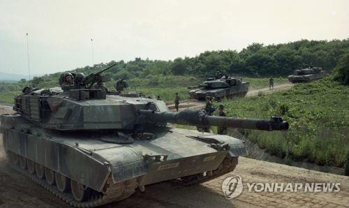 M1-A1(에이브럼스)전차 [연합뉴스 자료사진]