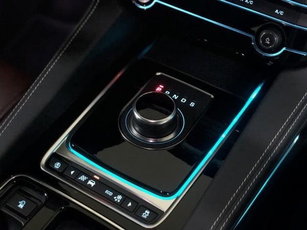 재규어가 판매 중인 브랜드 첫 스포츠유틸리티차량(SUV)인 'F-페이스' / 사진=박상재 기자
