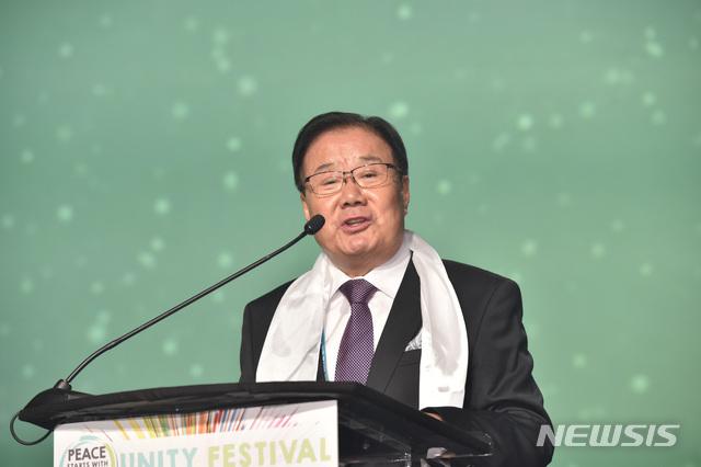 김기훈 세계평화통일가정연합 세계부회장 겸 미국 총회장