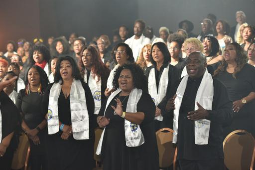 초종교초교파 합창단 공연
