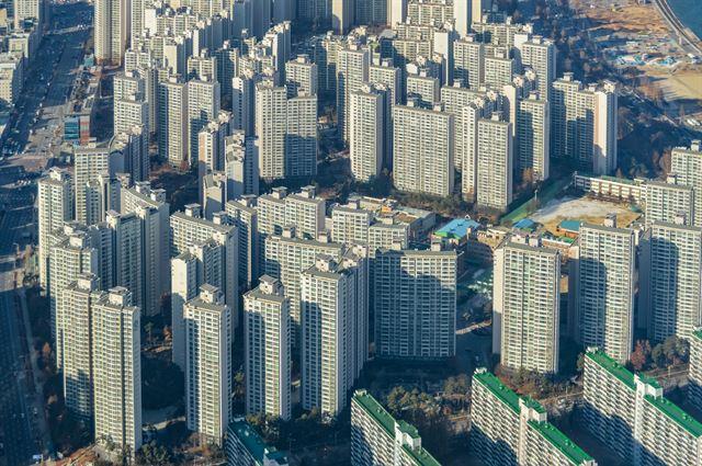 서울 아파트 전경. 게티이미지뱅크