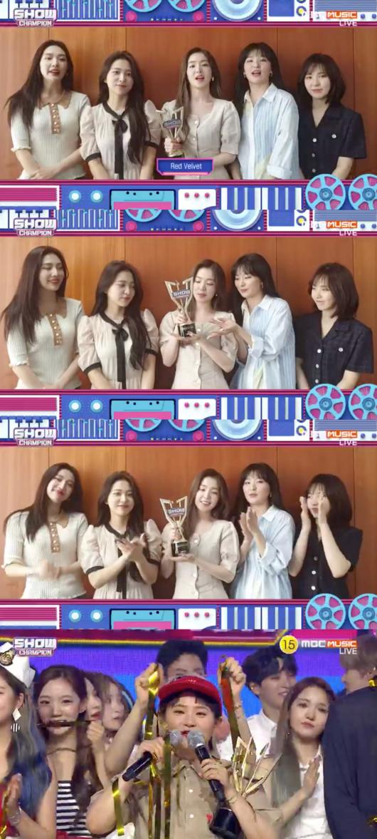 [사진] '쇼챔피언' 방송화면 캡처