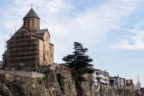 조지아 트빌리시 메테히교회 [연합뉴스 자료사진]