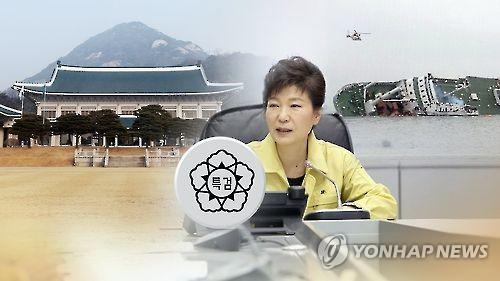세월호 참사 당일 '대통령의 7시간 행적' [연합뉴스TV 제공]