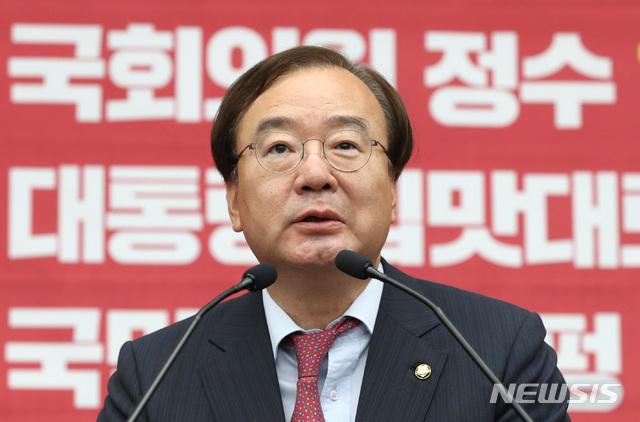 【서울=뉴시스】 전진환 기자 = 강효상 자유한국당 의원 2019.05.29. amin2@newsis.com