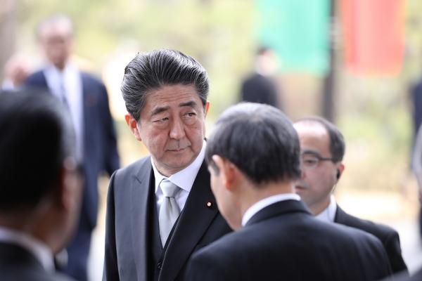 아베 신조(安倍晋三) 일본 총리 ⓒ 연합뉴스
