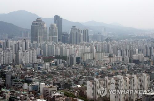 서울 시내 아파트 [연합뉴스 자료사진]