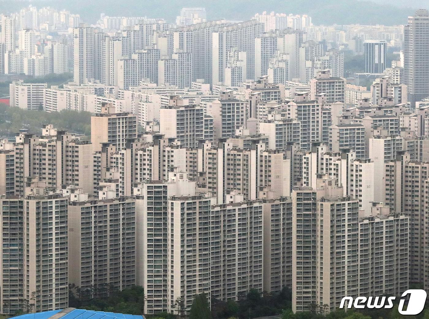 서울 송파구의 아파트 단지의 모습. (뉴스1 DB) 2019.7.2/뉴스1
