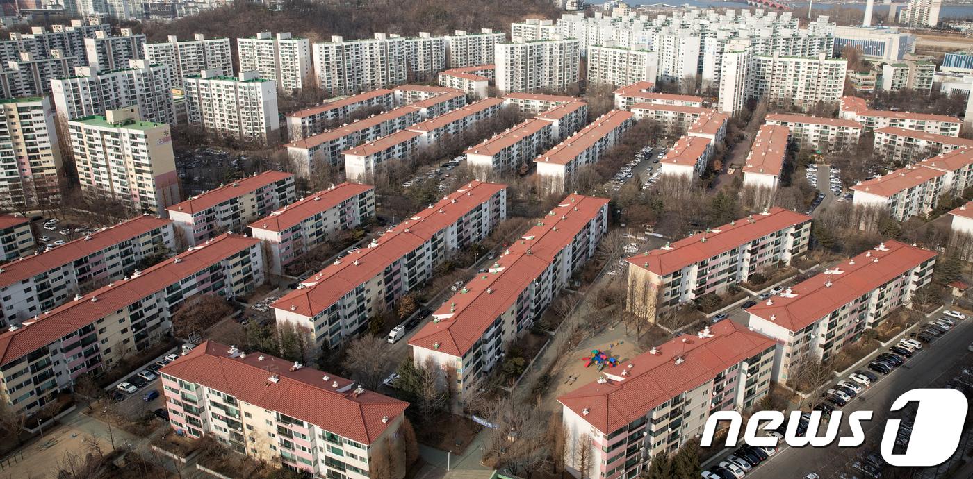 서울 양천구 목동신시가지 아파트 전경.(뉴스1 자료사진)© News1 이승배 기자