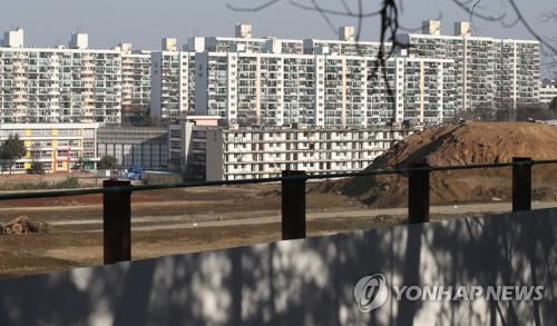 강남 재건축 공사현장 [연합뉴스 자료사진]