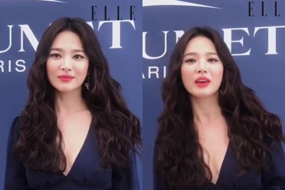 <p>Actress Song Hye-kyo with unwavering, Beautiful looks, and was proud.</p><p>Fashion magazine Elle Hong Kong and Harper Park Hong Kong is the 11th official SNS Song Hye-kyos photos and videos to the public. Song Hye-kyo is the Monaco open in one jewelry brand in the occasion of the Asian Ambassador as attend as well.</p><p>Long wavy hair of Song Hye-kyo is the chest line stand out V-neck dress and posing in. This video, from Song Hye-kyo is in Monaco, and you arein terms of cool jewelry along with happy to,he said.</p><p>Song Hye-kyo husband Song Joong-Ki for the past 27 Seoul court on divorce adjustment you did and insulin sensitivity. Since Song Hye-kyo also distressed at the end of the marriage to finish, as it wereand I was. divorce news known then, Song Hye-kyo part of the epic family at home and abroad large getting attention.</p><p>Picture=Harper Park Hong Kong Instagram</p>