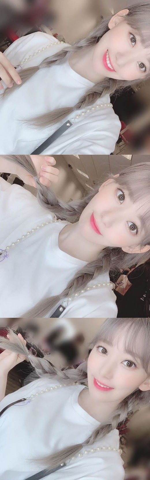 <p> Within a group Izone member of the Mana Sakura with cute sheep go head to digest.</p><p>Mana Sakura is a 14 Izone official Instagram to Hong Kong thank you~Asia tour already last, it is so fleeting, I guess. . . ! Left Japan Tour! Expect the way.~~that, along with a number of photos showing.</p><p>The picture Mana Sakura is a mutton head to hold the pigtails into a different style more than anything. A particularly clear visage and pure atmosphere eye-catching.</p><p>This present netizen the angel appeared, so cute, long hair goes to variety of comments left behind.</p><p>Meanwhile Seoul last month, starting with Thailand, Taiwan in consecutive solo concert the child comes to us(EYES ON ME)to be held Izone offers 8-21, Japan Makuhari Messe, 9 April 1 of the Kobe world Memorial Hall, 8, Fukuoka Marine Messe, 25 in Saitama Super Arena in sequential order as the performances go plan.</p>