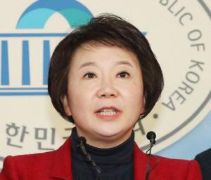 정미경 자유한국당 최고위원의 모습. /연합뉴스