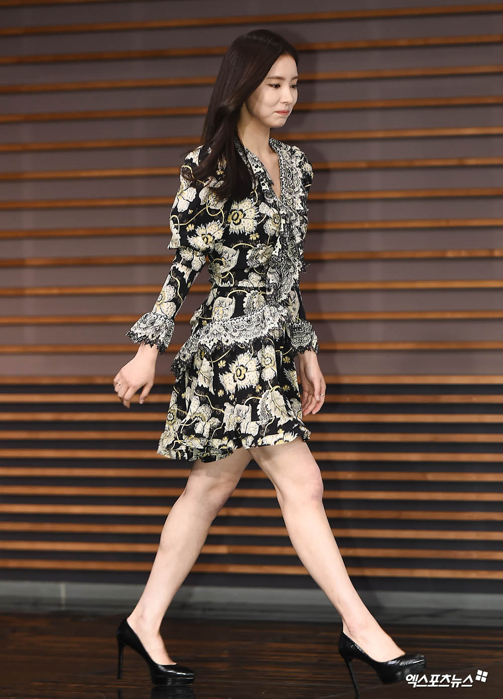 <p> 17 Afternoon Seoul Sangam-Dong MBC opened in every new Museum By command production presentation attended actor Shin Se-kyung, this photo has.</p>