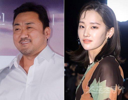 배우 마동석(왼쪽)-전종서. 스포츠동아DB