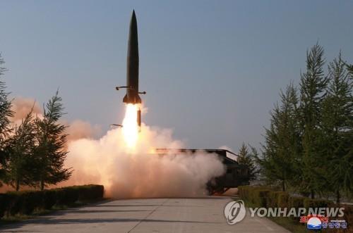 북한 단거리 탄도미사일 [연합뉴스 자료사진]