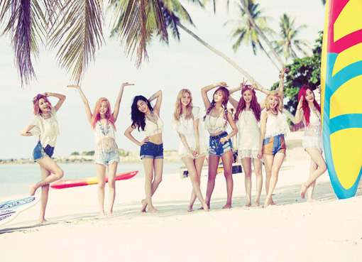 걸그룹 소녀시대. 사진제공|SM엔터테인먼트