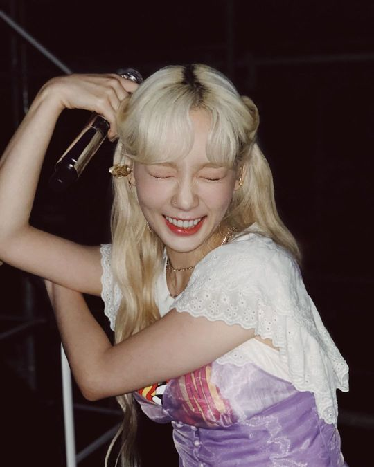 <p>Group Girls Generation leader Taeyeon this pure, Beautiful looks, and was proud.</p><p>Taeyeon is 8 and 6 their Instagram multiple photos showing.</p><p>Photos in blue sleeveless dress is Taeyeon of all our won. Taeyeon of blemishes one white jade skin into it. Taeyeons dreamlike eyes and scowls sassy and also Beautiful looks and accessorised with.</p><p>A picture for the fans I Love You, Marry Me Please, a real fairy know I did, etc, reactions.</p><p>Taeyeon is the day of 'SMTOWN LIVE IN 2019 IN TOKYO' schedule and entry was</p>