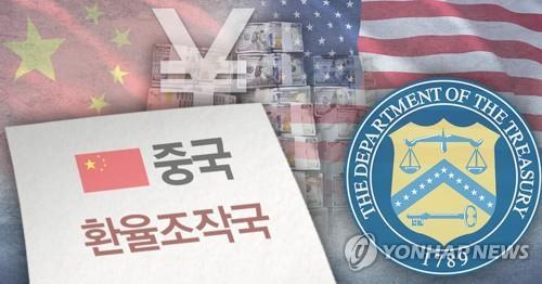 미국, 중국 환율조작국 지정 (PG) [권도윤 제작] 사진합성·일러스트