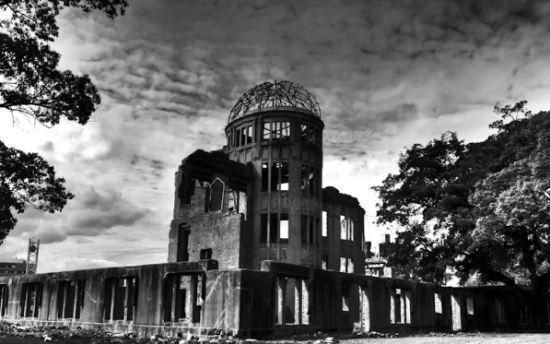 히로시마 돔. 비욘드 뉴클리어 홈페이지 캡처