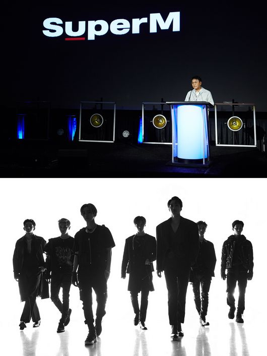 """<p> Global project SuperM(Super im)this public and at the same time United States of America Forbes, Billboard, UK Metro, including overseas media attention.</p><p>Last 8 December 7(local time) world-music label Capitol Music Group(Capitol Music Group, hereinafter CMG)this week hosted a 'Capitol Congress 2019(Capitol Music Group)'in the first public SuperM is SHINees Taemin, EXO Baek Hyun, and Kai, NCT 127 of tags and marks, including China Group WayV Lucas and ten other 7 people as a member of the Coalition team as, CMGs request as a producing producer Lee Soo-man producer on the scene, attended by SuperM on direct introduction to the topic and music.</p><p>This in the United States of America Economy Magazine Forbes(Forbes)is a 7 days through the website """"'K-POP Avengers' SuperM this veil was taken off'by the title, """"8 April 7, aka 'K-POP Avengers' Super boy group released the news that the United States of America and the Korean music industry behind them,""""it was,""""'We Are The Future'phrase and SuperM a member of the intense and life contains visual teaser was made public,""""said SuperM public scene in detail introduced.</p><p>More """"SM Entertainment that Super Junior, Girls  Generation and other large groups to successfully produce, and expand that group, the NCT, and that such a long period of time overseas in the tremendous success that K-POPs pioneer role in it. SuperM through the K-POP industry based on the new changes to Hope,""""said SuperM for Best exposed.</p><p>Also United States of America famous media Billboard(Billboard) history home page article """"through SM Entertainment and CMG with SuperM released"""", """"'Capitol Congress 2019 in'Katie ferry, Halsey, marshmallows, etc CMG artists of the new music was also introduced, but in the field the biggest cheers to the return of the news is that Lee Soo-man producer announced SuperMs decision was a""""few days,""""SuperM is a K-POP group between the United States of America in the most attention-the debut record will be cal"""