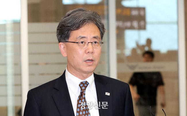 김현종 청와대 국가안보실 2차장. 권도현 기자