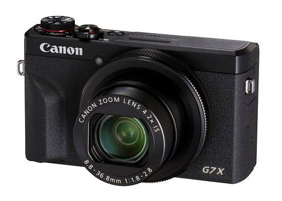 캐논 파워샷 G7 X 마크Ⅲ. 유튜브 라이브 스트리밍 기능을 내장했다. (사진=캐논코리아컨슈머이미징)