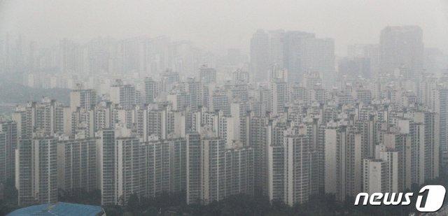 서울의 아파트 전경.(자료사진)© News1