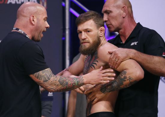 UFC 선수 코너 맥그리거. AP뉴시스