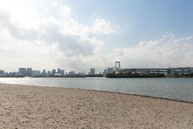 도쿄 올림픽·패럴림픽 대회의 오픈워터 수영 경기 등이 열리는 오다이바 해변공원 [도쿄올림픽·패럴림픽 준비국 홈페이지 캡처]