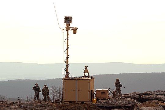 주피터 프로그램에 따라 주한미군이 생물학 무기 탐지 장비로 훈련을 하고 있다. [사진 미 육군]