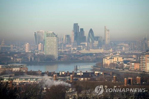 영국 런던 시내의 전경 [AFP=연합뉴스]