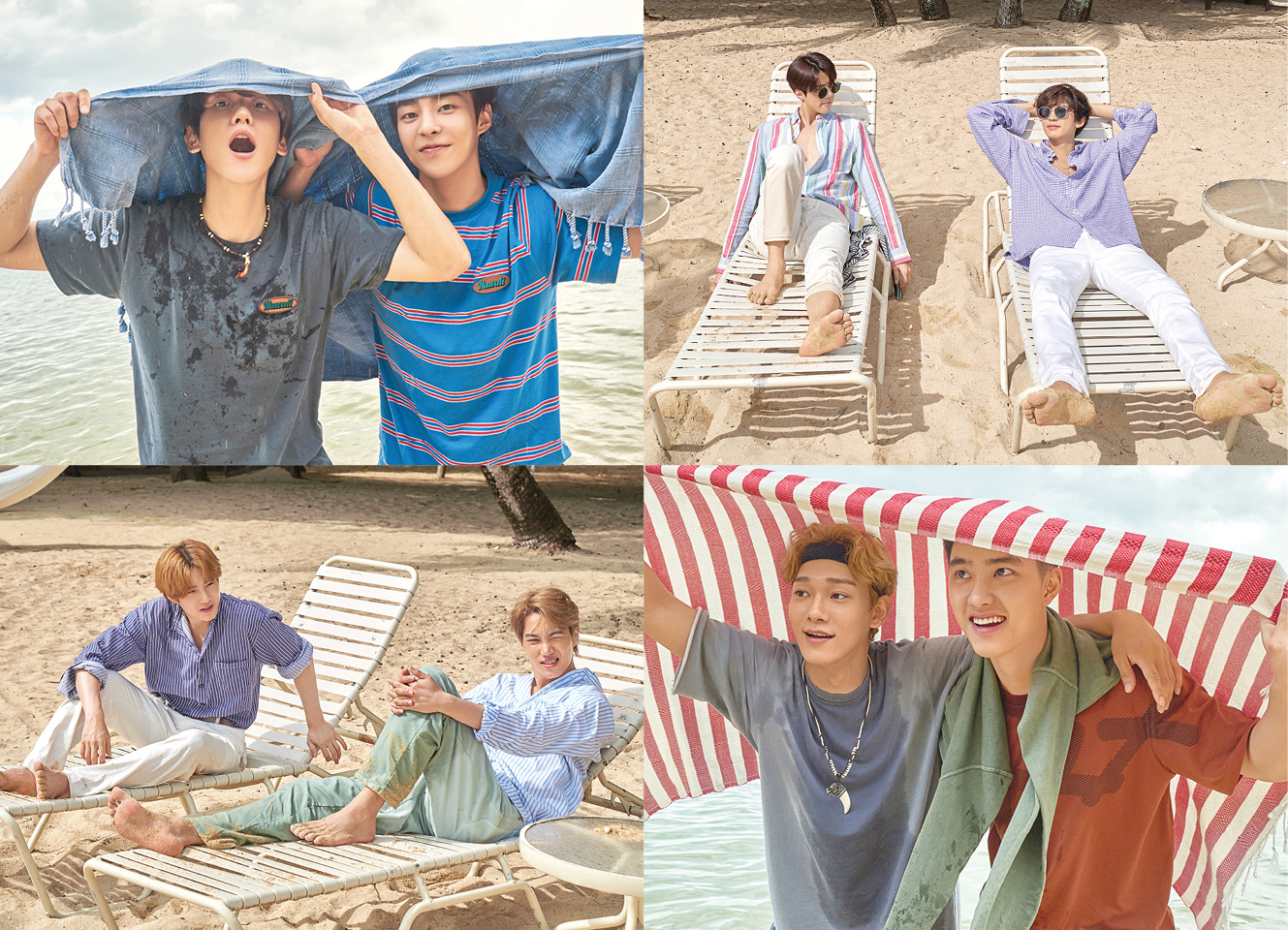 <p>EXO(EXO, SM Entertainment and affiliation)of the second Hawaii White 'PRESENT ; the moment'(the day ; the more cement)with 9 and 10 will be released.</p><p>This time, the White Sea, grassland, etc Hawaii is the perfect place to travel to and 20 for the youth of the moment, enjoying the EXO members, their cheerful and lively look to our colorful and comfortable.</p><p>ALSO EXOs Hawaii pictorial collection 'PRESENT'is a two concept, planning and production, last 4 November launched the first White, 'PRESENT ; gift'the gift, such as a break to savor the EXO stunning look of our much-loved is as much as, another charm, this time White, Again, fans of the good reaction is anticipated.</p><p>The addition of 'PRESENT ; the moment'today(22nd)from various online music stores on the reservation purchase is possible.</p><p>iMBC car Hye images | pictures provided by=SM Entertainment</p>