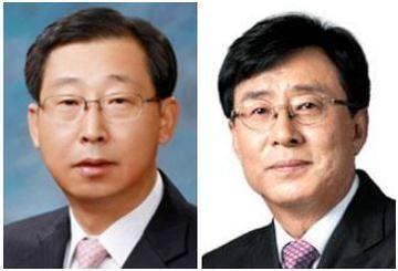 박한우 기아차 사장(왼쪽)과 안건희 이노션 사장/각사 제공