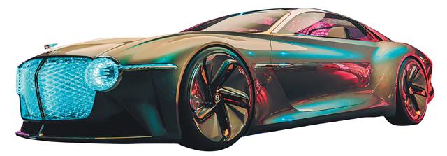 EXP 100 GT는 최대 700km 거리를 달릴 수 있는 전기 구동계를 갖추고 바람직한 미래 고성능 럭셔리 카 상을 제시한다. 벤틀리 제공