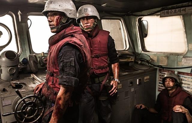 제2연평해전 장병들의 이야기를 담은 영화 '연평해전' 스틸컷.