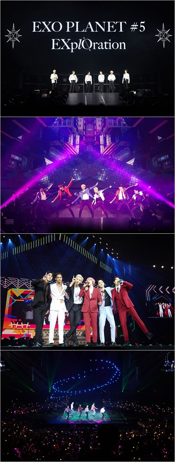 <p> Group EXO(EXO)the Philippines Manila Concert, and successfully finished.</p><p>EXO fifth solo Concert EXO PLANET #5 - EXplOration - in MANILA(EXO Planet #5 - Explorer collection - Internet Manila)for the past 23~24, Philippines Manila Mall of Asia Arena unfolded on it. EXO is the colorful music and performance, engaging with high-quality performances by local audience was enthusiastic.</p><p>Especially for this Concert is approximately 1 year and 4 months in the open EXOs Manila solo Concert as much as it is, the first scheduled for 1 gig local fanss heated response with a ticket Open at the same time sold records, 1 times to add a total of 2 circuits spread EXOs high popularity once again realize was.</p><p>Tempoto this performance of because EXO is growl, addiction, CALL ME BABY, Monster, including the hit songs from the Love Shot, touch the moment, Gravity, after the storm, Damage, such as the regular 5 home and repackage album tracklist stage, each with a different personality filled solo and unit stage up to a total of 23 songs to explosive Cheers was obtained.</p><p>Also the seats filled with the audience is a Philippines national flag colors of yellow, red, blue, white 4 kinds of color dress code by wearing tailored LED cheer Bong-waving performances enthusiastically enjoyed. IN THE NAME OF Love, EXO(in the name of love, EXO), EXO Mahal kita(EXO love)the phrase contains the slogan, the event also featured the heart-warming, including more.</p><p>Meanwhile, EXO is coming 9 15 Singapore Indoor Stadium from EXO PLANET #5 - EXplOration - in SINGAPOREto hold.</p>