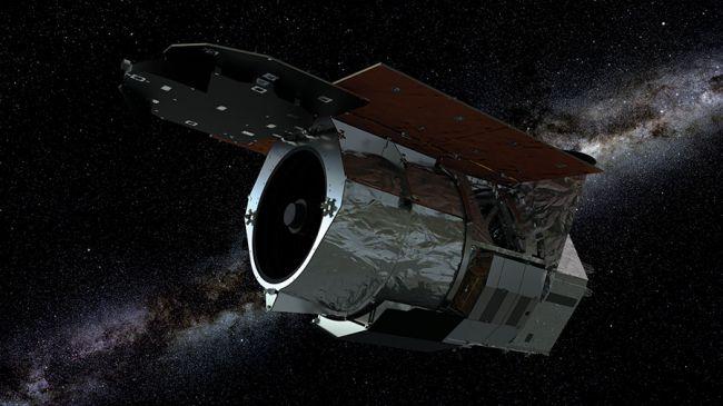 WFIRST의 이미지. 출처=NASA's Goddard Space Flight Center/Chris Meaney