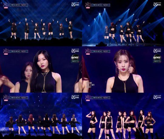 '퀸덤' 러블리즈 / 사진=Mnet 방송화면