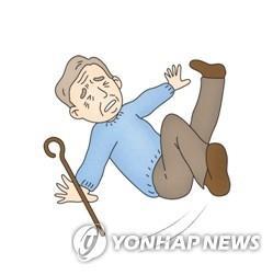 노인 낙상 [자료사진]