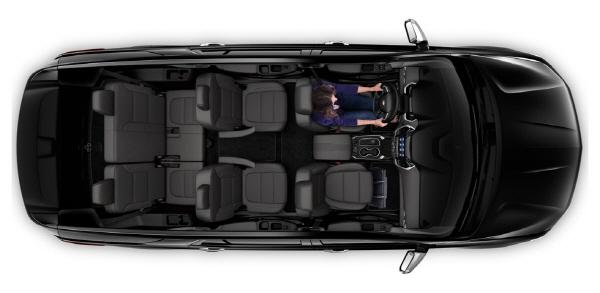 국내 출시되는 쉐보레 트래버스는 2열 독립식 캡틴 시트가 장착된 7인승 모델이다 [사진제공=한국지엠]