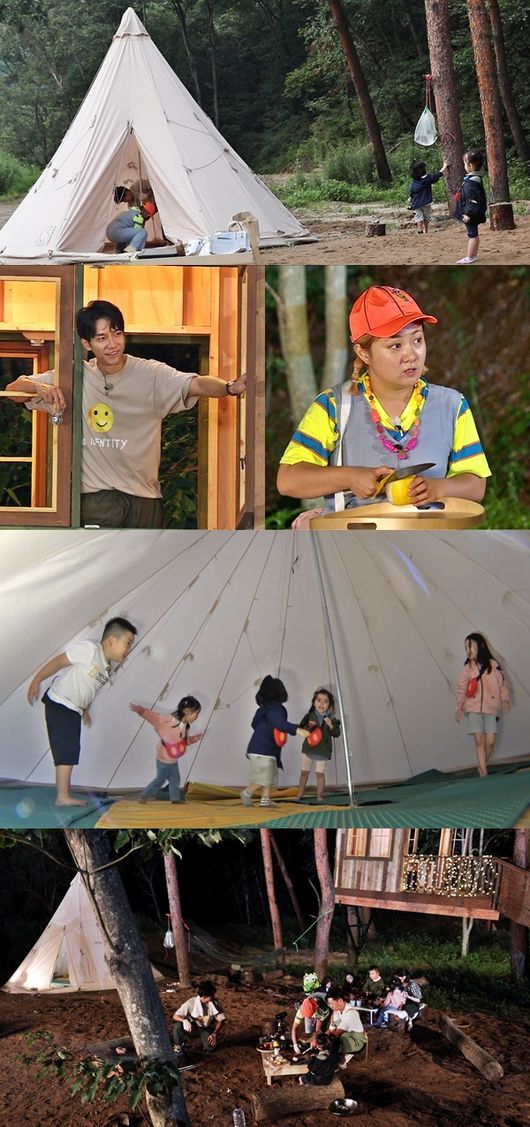 """<p> SBS On the arts 'little forest : take every countrys summer'(the 'Little Forest')in the photo, Lee Seung-gi, Park Na-rae, Jung So Min and other four with members of the Camping site before the price is revealed.</p><p>Recently members of the littlethings for a large Indian Tent, a barbecue party in the various Camping items was prepared. Among them, the Little People of Camping items as 'Indian Tent'.</p><p>Lee Seung-gi and Park Na-rae is little for them to join forces the Indians Tent installed and the result was successful. Especially, Park Na-rae of the in the Indian Tent belongs to monster play thanks to the Little People are all happy screamed.</p><p>But the Indian Tent of the skyrocketing popularity in the Lee Seung-gi is pleased to did not. In a few hours made Indian Tent with in a few weeks going Made tree house than the popular interest, """"to be,""""said the cute tantrum children will.</p><p>Must Lee Seung-gi is a tree house up in """"our house come on people~""""this magnificent act was, but his invitation to little or no laughter, I found myself in.</p><p>Members and a little of the Sweet Arrow Global had a Camping scene on the 9th, 10 PM, to be broadcast in 'Little Forest'can be found at. / [Photo]SBS</p><p>SBS</p>"""