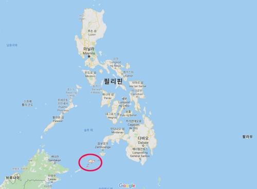 필리핀 술루주 [구글 지도 캡처]