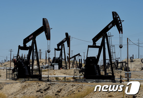 미국 캘리포니아주 유전지대. © AFP=뉴스1