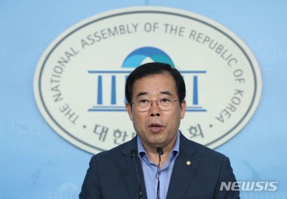 박성중 자유한국당 의원. 뉴시스