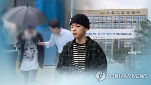 """장용준 측 """"운전 주장 인물은 지인""""…합의종용 부인 (CG) [연합뉴스TV 제공]"""